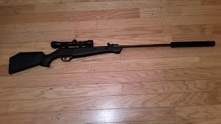 Home Made Air Rifle Suppressor, simply the best out there