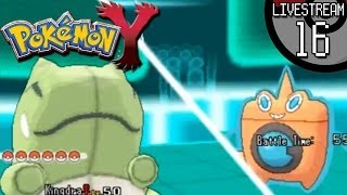 Pokemon X And Y Livestream #16: Rotom-W Tricks Away A