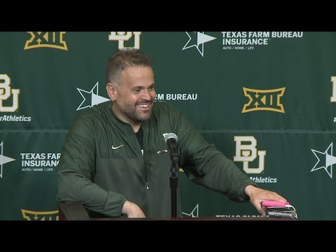 Baylor Football: Green/Gold Postgame