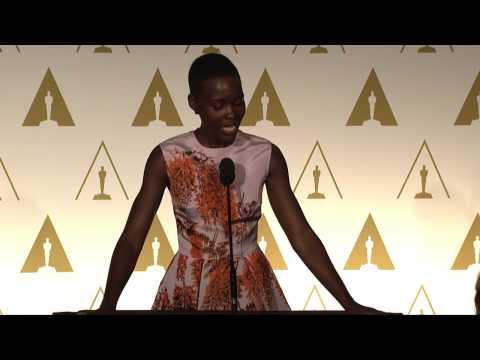 Lupita Nyong'o at the 86th Oscars® Nominees Luncheon