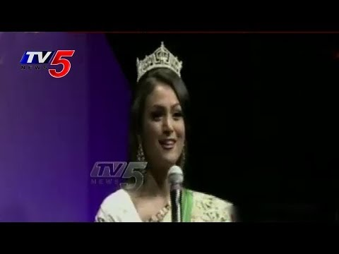 Miss America Nina Davuluri Felicitated By NATA : TV5 News