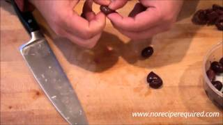 How To Pit An Olive NoRecipeRequired.com