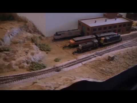Gosport Club n scale at NMRA(BR) Meriden 2013