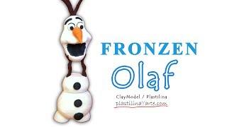 Frozen Olaf Polymer Clay / Olaf Frozen De Plastilina