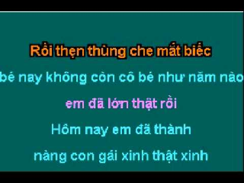 Tinh Nho Mau Quen.karaoke song ca