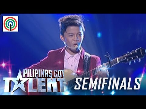 Pilipinas Got Talent Season 5 Live Semifinals: Kurt Philip Espiritu - Singer
