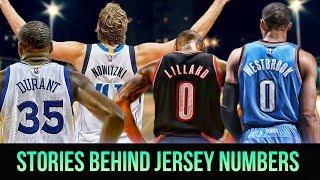 Meanings Behind Jersey Numbers Of NBA Superstars! KD, Lillard, Westbrook & MORE!