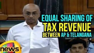 Jayadev Galla's speech in Lok Sabha on sharing of Tax Revenue between AP & TS