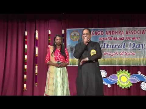 """CAA - 2017 AP Cultural Festival - Oct 14th 2017 - Item-13 """"President Speach"""" Sundar Dittakavi"""