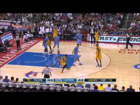 Paul George vs Los Angeles Clippers 2013.12.01