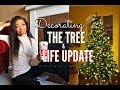 DECORATING THE CHRISTMAS TREE LIFE UPDATE Q A Dating Confidence Moving Out VLOGMAS DAY 10