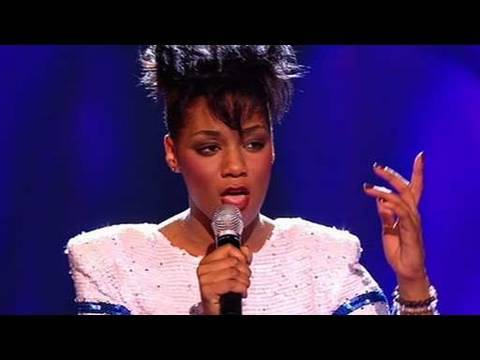 The X Factor 2009 - Rachel Adedeji - Live Results 1 (itv.com/xfactor)