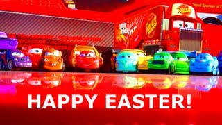 Disney Cars Easter Holiday Edition Micro Drifters 2013