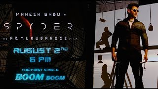 Spyder-Movie-Boom-Boom-Song-Teaser