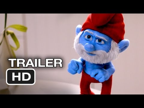 Smurfs 2 TRAILER 2 (2013) - Hank Azaria Animated Movie HD