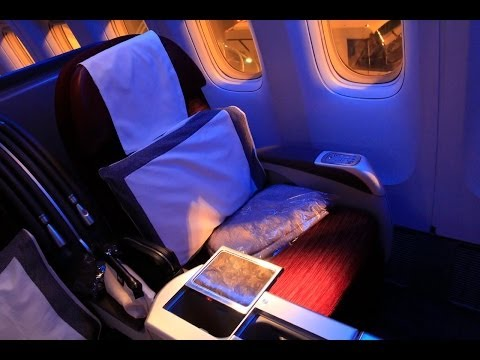 Qatar Airways DOH-SIN 77W Business Class Experience