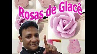 Rosas Em Glacê Real Passo A Passo Confeitaria Online