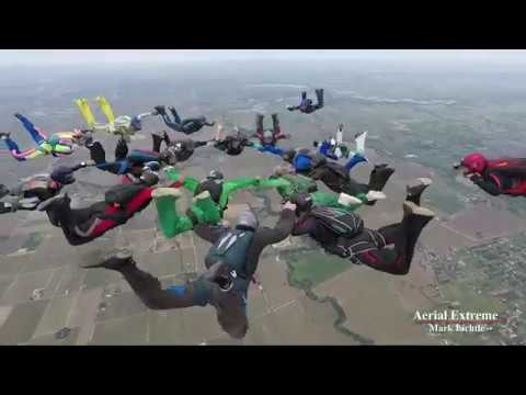Ripped Gristle Skydiving from 4/22 to 4/23 - Aerial Extreme