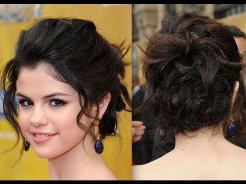 Hair styles - Easy to do French Twist Updo and OOTD