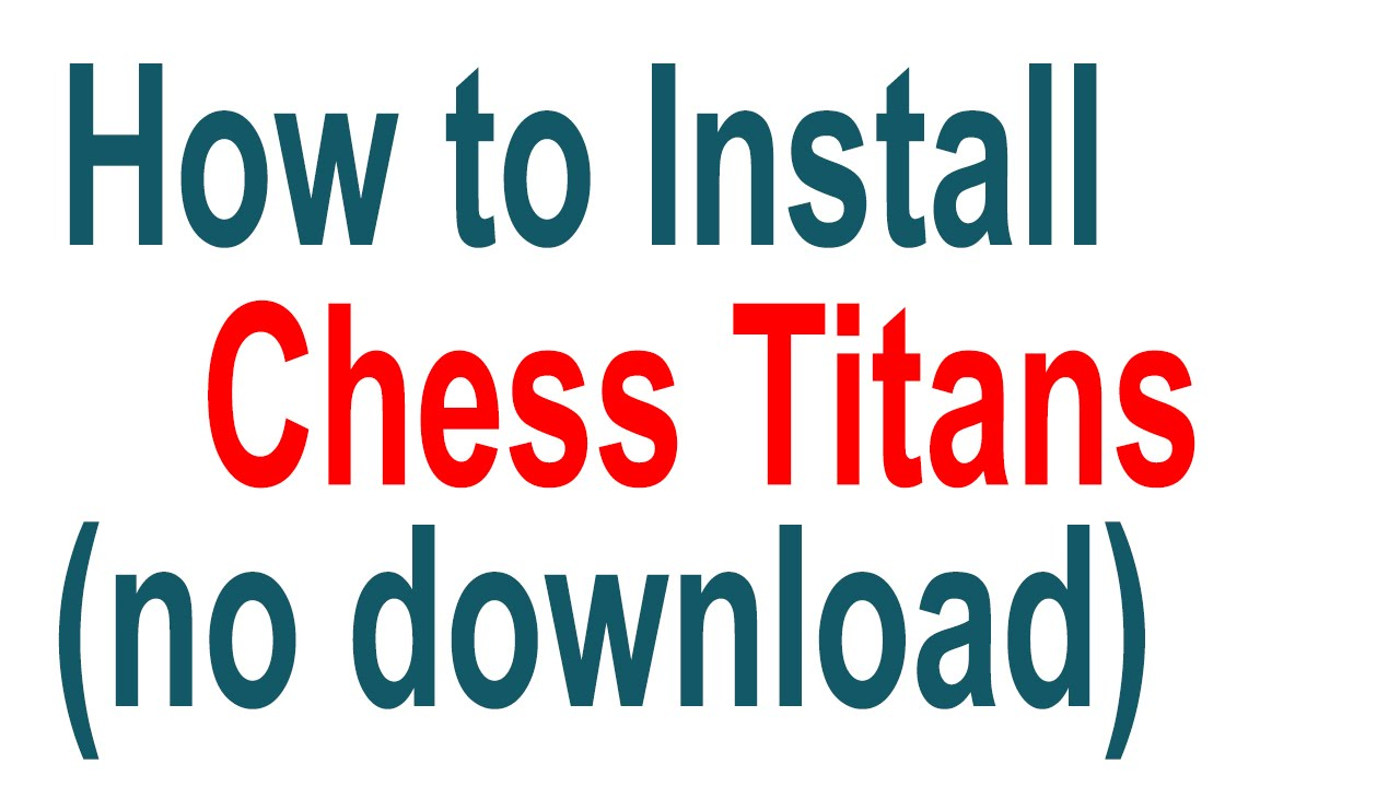Windows 7 Chess Titans Cheats submited images.