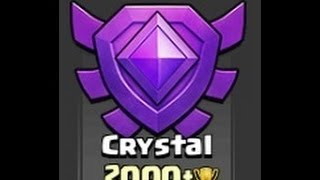 Clash Of Clans Fun In The Crystal League! High Level