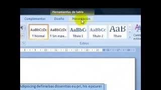Cómo Convertir Tablas A Texto En Microsoft Word 2007