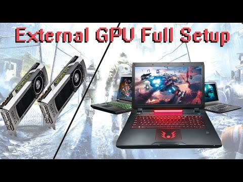 How to setup External GPU with Laptop