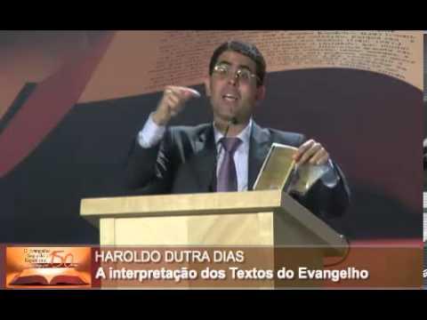 Haroldo Dutra Dias / A Interpretação dos Textos do Evangelho por Allan Kardec  - Parte 2/ XVI CEE