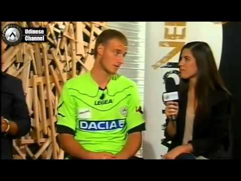 Wojciech Pawłowski - wywiad dla Udinese Channel
