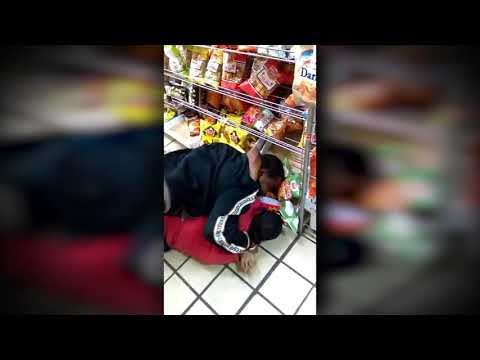 Fist Fight in The Store - Woman Beats Man With Keys - Funny Narration
