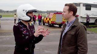 Tamsin Greig Talks Through Her Lap -  Top Gear. Watch online.