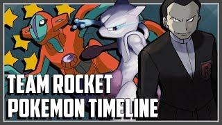 Pokemon Timeline Explained   Team Rocket