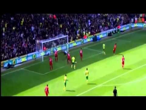 Gol Norwich City vs Liverpool 2 3 | 20 04 201هدف نوريتش سيتي التاني في ليفربول