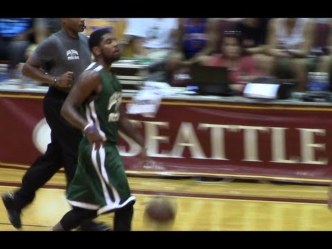 FULL HIGHLIGHTS: Kyrie Irving & Jeff Green vs Tony Wroten @ Jamal Crawford Pro Am (Aug 16, 2013)