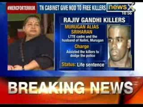 Tamil Nadu cabinet gives nod to release Rajiv Gandhi killers