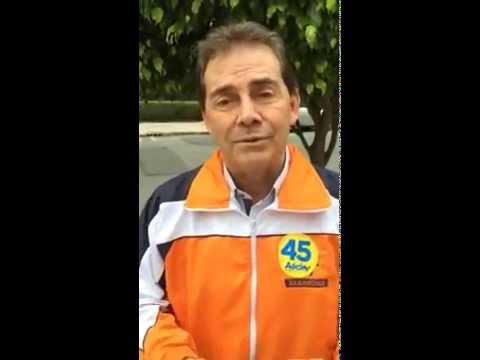 Paulinho da Força pede à militância e aos eleitores que votem Aécio 45 neste domingo!