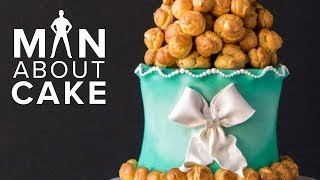 Croquembouche Tower WEDDING CAKE | Man About Cake 2018 Wedding Season with Joshua John Russell