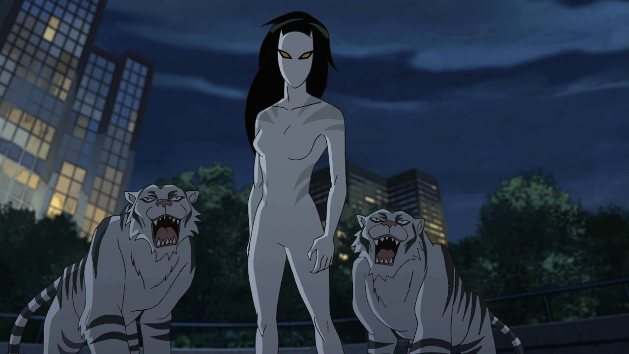 white tiger hot ultimate spider man tv series pictures to