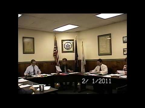 Champlain Village Board Meeting 2-1-11