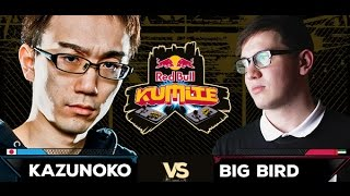 Red Bull Kumite 2016 : Kazunoko vs. Big Bird - Losers Round 4
