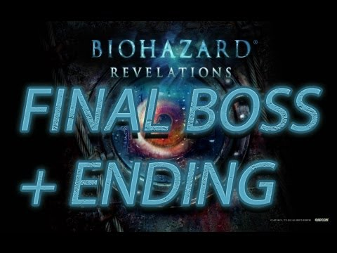 Resident Evil Revelations: Final Boss + Ending + After Credits ( PS3/1080p )