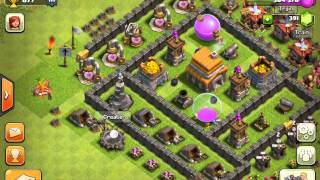 CLASH OF CLANS: Best TOWN HALL LEVEL 5