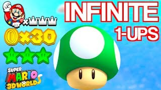 How To Get Infinite Lives SUPER MARIO 3D WORLD UNLIMITED