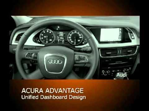 Acura  Sport Wagon on Ed Martin Acura Tsx Sport Wagon Vs Audi A4 Avant   Youtube