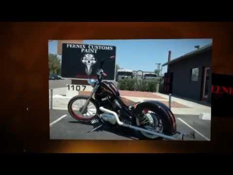 Tempe Motorcycle Painting | Custom Airbrushing & Pinstriping