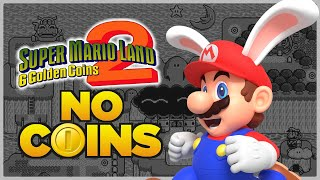Is it possible to beat Super Mario Land 2 without touching a single coin?
