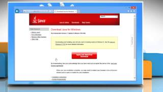 How To Install Java® In Internet Explorer® 10 On A