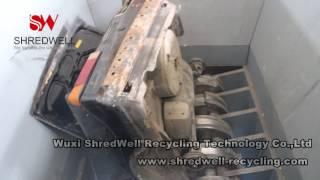 MS 2400 Car Shredder | Auto Shredder | Scrap Metal Shredders | SHREDWELL, CHINA