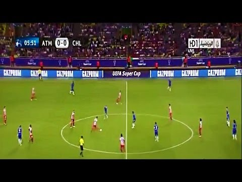 Atletico Madrid vs Chelsea 4-1 All Goals & Highlights HD Uefa Super Cup 2012
