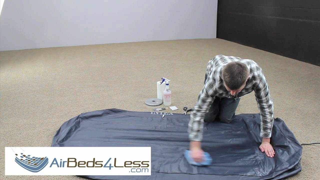 How To Find A Leak And Patch An Air Bed Mattress Correctly